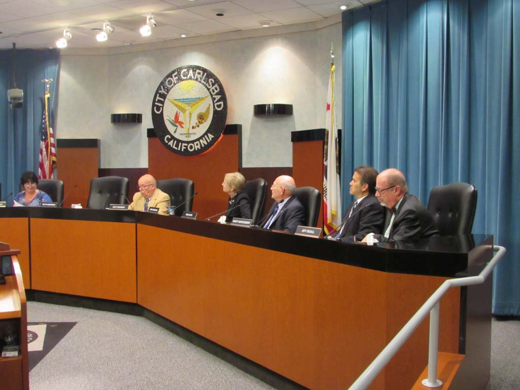 The Planning Commission meets Wednesday to discuss a zoning change to the area surrounding Grand Pacific Drive. Photo by Ellen Wright