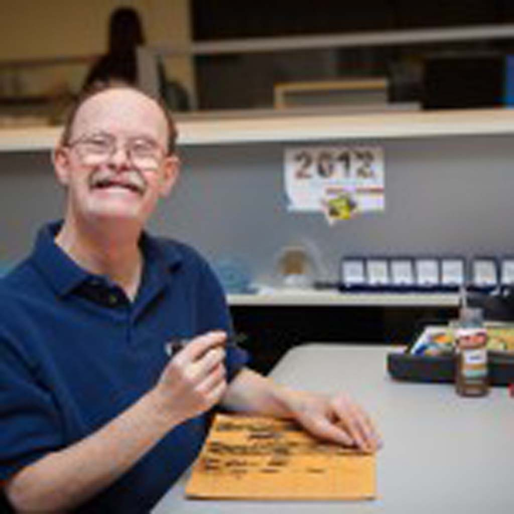 After spending 24 years in the offices at 24 Hour Fitness, Perry Carr retired two weeks ago. Staff at Partnerships With Industry worked alongside Carr throughout his career to ensure his success. Courtesy photo