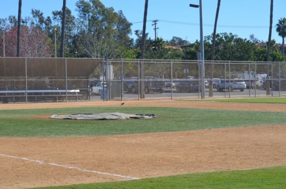 The Encinitas Little League announces a proposal Tuesday morning that would keep most of its baseball programs at the Magdalena YMCA, yet allow for the YMCA to do some expansion work over the next few years. File photo