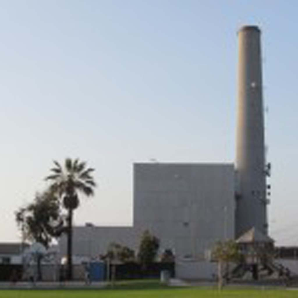 Demolition on the Encina Power Station will begin in 2018 and be completed by 2020. It is going to be replaced by a lower-profile power plant. Photo by Ellen Wright
