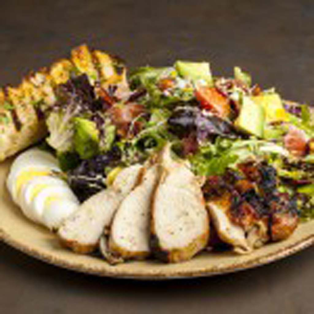 The amazing Chicken Cobb salad at Urban Plates is a meal in its own right. Photo courtesy Urban Plates