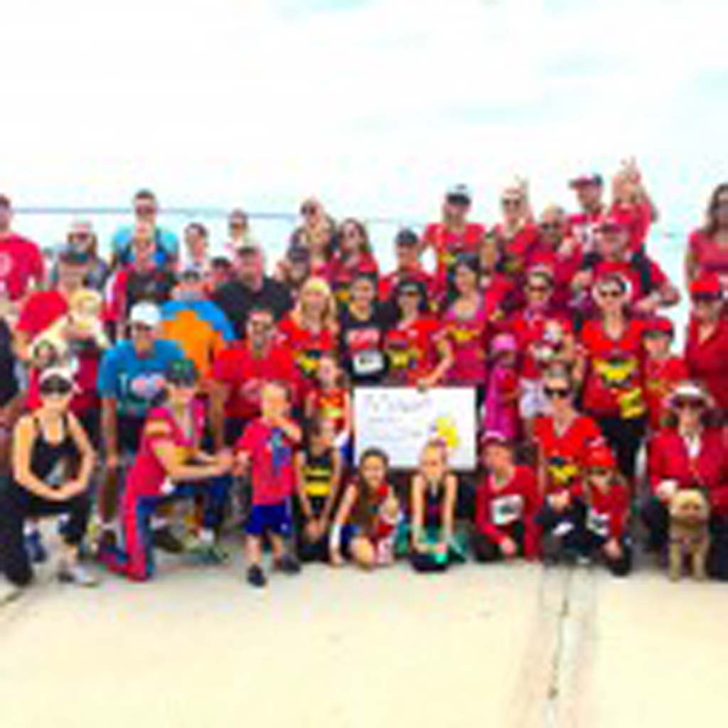 Rancho Santa Fe resident Marjan Daneshmand's team, the Mighty Miracles, is the top fundraising team for the 7th annual 5K event on May 3. Photo by Robin Wood