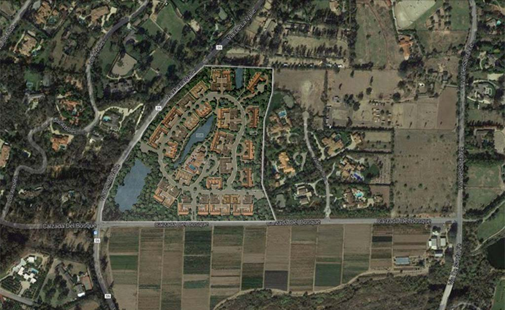 A neighborhood group in Rancho Santa Fe is voicing concern over a potential high-density development in the Ranch. Courtesy rendering