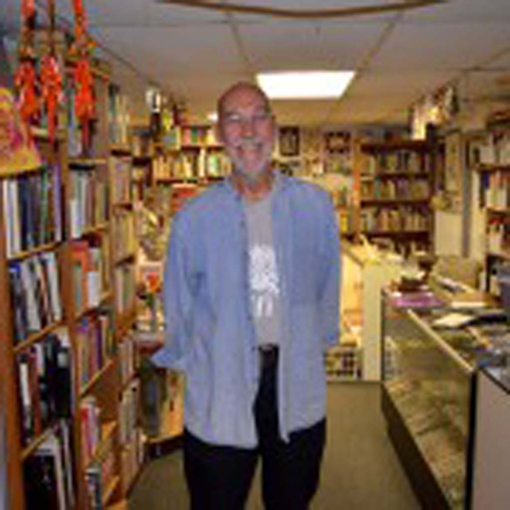 Jerry Waddle, 75, who opened Ducky Waddles in 1996, is turning to the public to help keep his iconic Leucadia bookstore in business. File photo