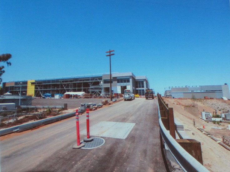 The Carlsbad Desalination Plant is 93 percent finished. The nearly complete administration building is shown here. Courtesy photo