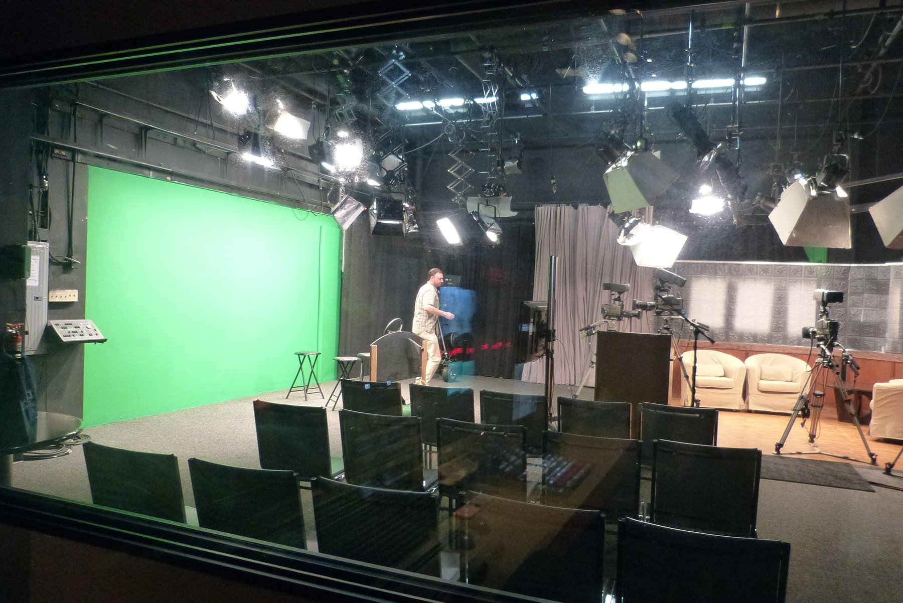 Oceanside's public access station KOCT is opening up its doors to the public June 15, giving viewers a chance to get a behind-the-scenes look at a production and to tour the studio. Photo courtesy KOCT