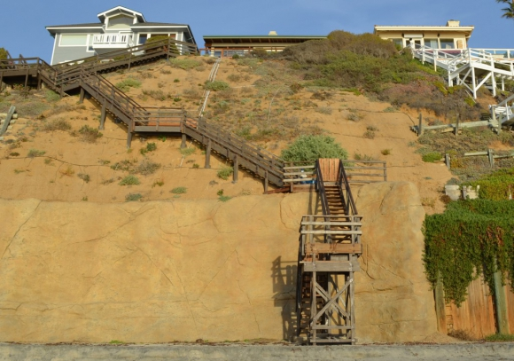 The Surfrider Foundation will lead a walking tour of seawalls in Encinitas Monday at 12:30 p.m. File photo