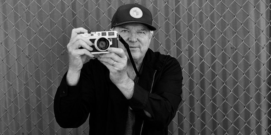 Encinitas resident J. Grant Brittain, a skateboard photographer and 2014 inductee into the Skateboard Hall of Fame and Museum. Photo by Damon Way
