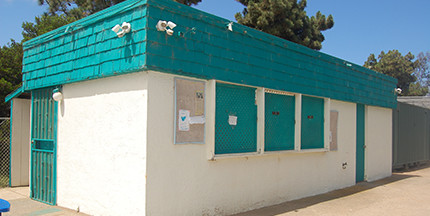 After more than a year, plans to replace The Snack Shack at Solana Vista Elementary School are finally moving forward thanks to an $85,000 county grant. Photo by Bianca Kaplanek