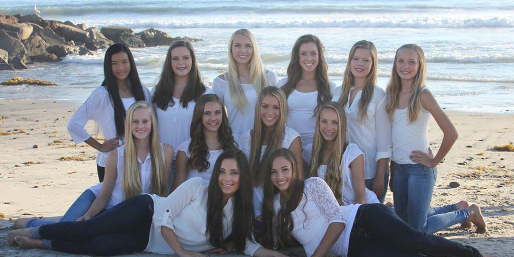 The Lancer Dancers are Carlsbad High School's dance team. The Varsity Team received an average GPA of 4.2. Courtesy photo