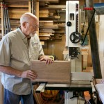 """""""I build relationships with people. I get to share their ideas and dreams through furniture,"""" says Brian Murphy of Murphy's Fine Woodworking. Courtesy photo"""