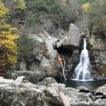 The scenic Bash Bish Falls, in the Taconic Mountains in western Massachusetts (near the New York border), are the highest in the state. A series of cascades sends water down about 200 feet into a serene pool. It's a picturesque reward for hikers on the Bash Bish Brook Trail. Autumn is the ideal time to visit this area because of the cooler temperatures, the brilliant colors and the lack of mosquitoes. Photos by Jerry Ondash