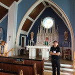 Though few Mi'kmaq on Lennox Island attend church, St. Anne Catholic Mission is impeccably maintained because it is an important part of their history. Resources are limited, but with fundraising and volunteer workers, the church is kept in pristine condition. Photo by Jerry Ondash