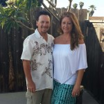 Greg and Stacey Holmes are bringing their aloha experiences to Oceanside with their coastal décor business Otterlei Coastal. Courtesy photo