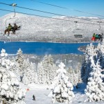 The mountains surrounding Big Bear Valley offer skiing, snowboarding and tubing. (Courtesy Big Bear Mountain Resorts)