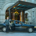 Bill Thomas, a long-time journalist and D.C. insider who has covered the political scene for several decades, stands in front of the recently opened Trump International Hotel, not far from the Capitol. Thomas founded Private Tours of Washington, which offers high-end tours of Capitol locations. The new Trump Tour takes visitors to places that have ties to President-elect Donald Trump's private life, business and upcoming administration. Courtesy photo