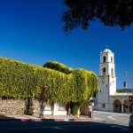 The 65-foot tower on the 100-year-old Ojai post office, located on the town's main street, was built when Ojai was named Nordhoff and had 500 residents. Today, the population is about 8,000 and the post office is a Ventura County Historical Landmark. (Photos by Laurie Brindle)