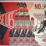street art creation highlighting racism and xenophobia