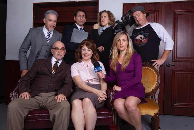 Cast of The Outsider play