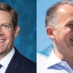 Brian Maryott and Rep. Mike Levin