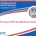Voters can return marked ballots in the pre-paid postage envelope to any U.S. Postal Service office or collection box. Photo courtesy of San Diego County