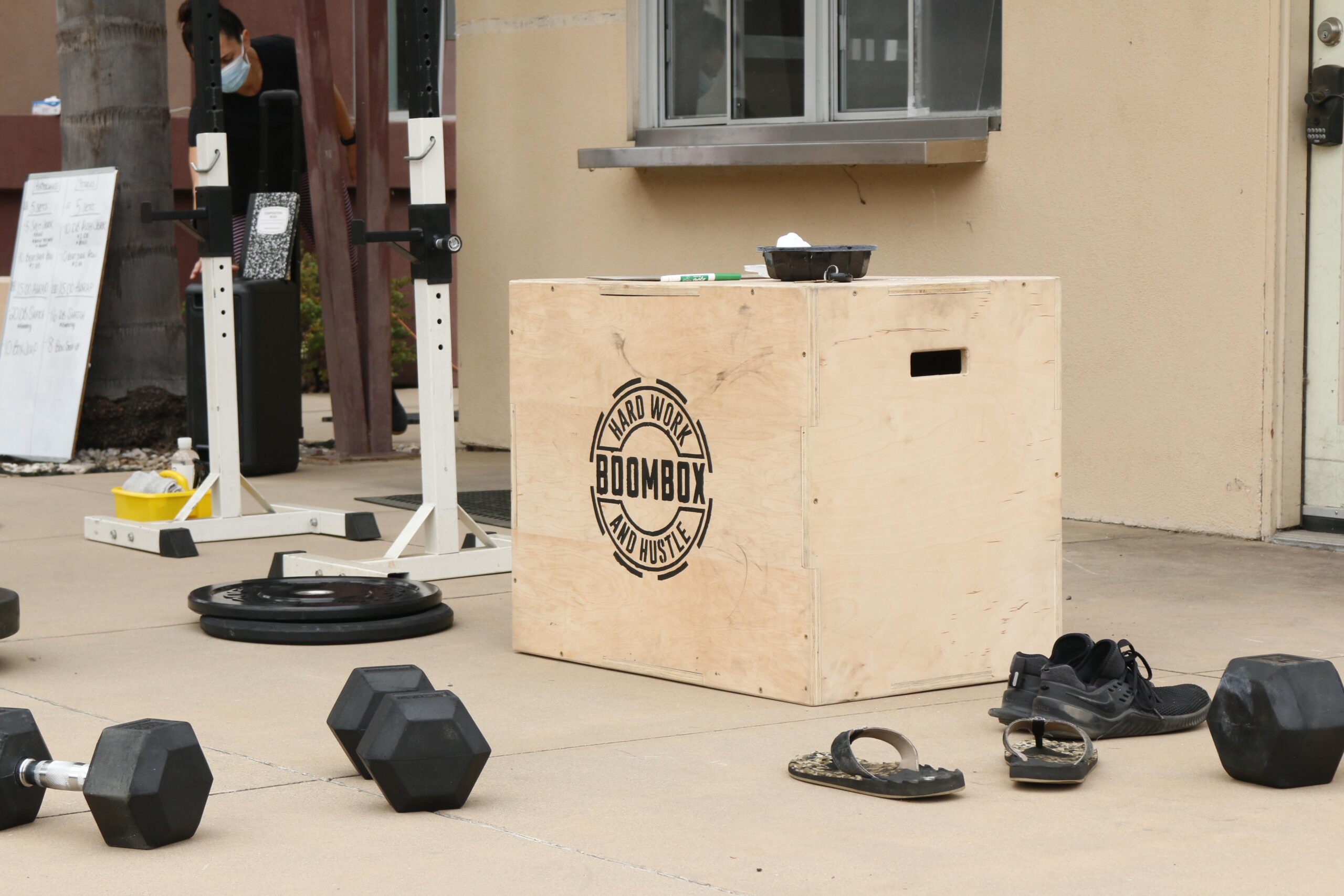 Gym Boombox Crossfit