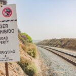 Del Mar Railroad tracks