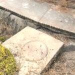 Garrison Elementary School sinkholes