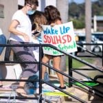 SDUHSD protests
