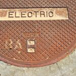 Electrical manhole cover