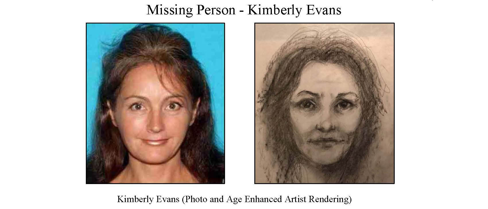Kimberly Evans missing poster