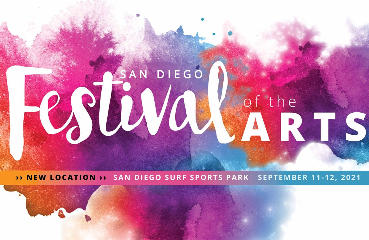 San Diego Festival of the Arts will take place Sept. 11 & 12 at the San Diego Surf Club Soccer Park in Del Mar. Courtesy photo