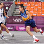 Kelsey Plum scored three points and dished out four assists against Italy.