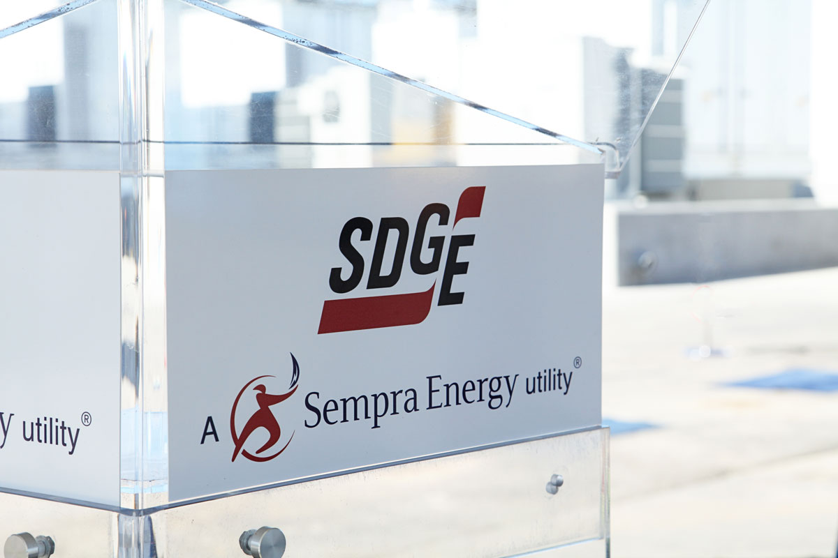 In addition to safety shutoffs and wildfire mitigation programs, advanced clean technology is a component of SDG&E's resiliency efforts.