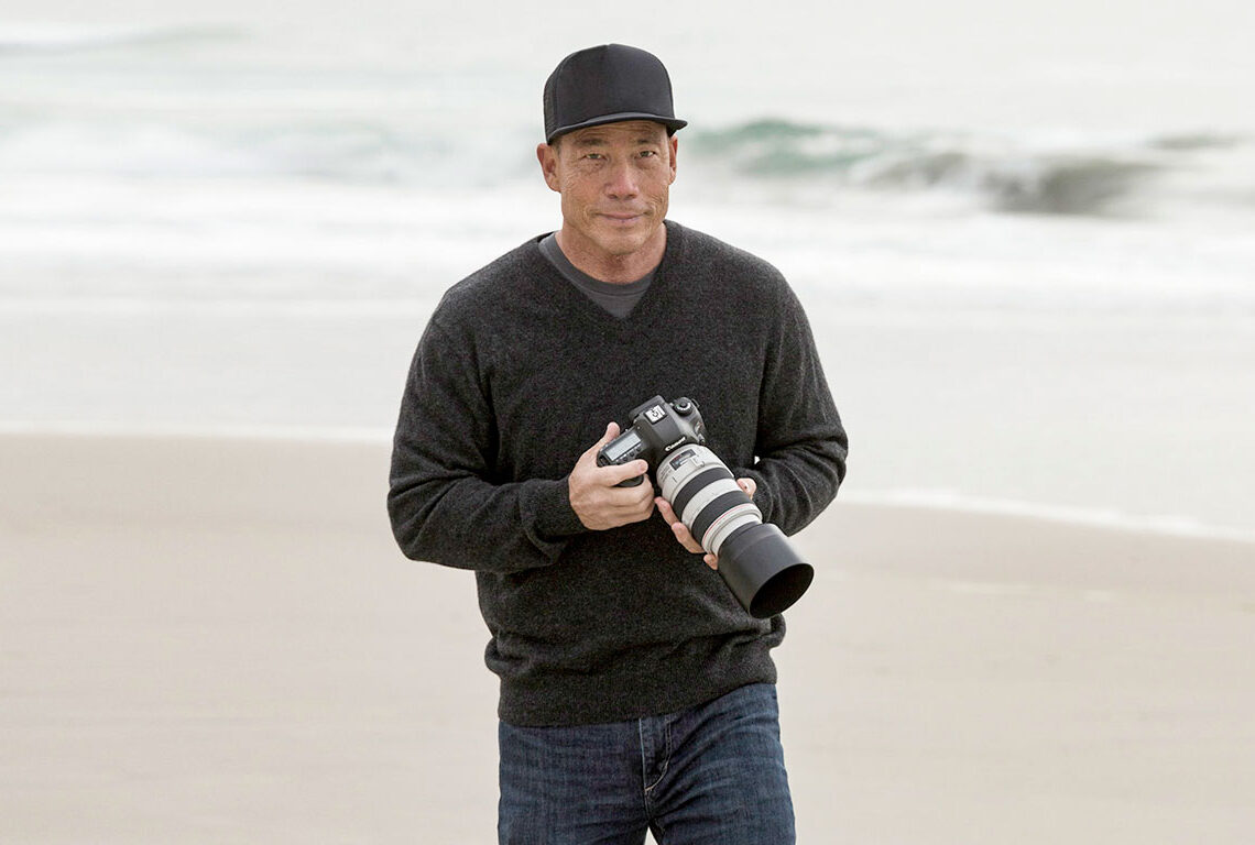 Award-winning photographer Aaron Chang's Ocean Art Galleries are located in the Cedros Avenue Design District of Solana Beach, and Carmel-by-the-Sea. Photo by Eland Chang