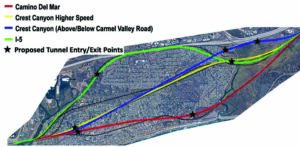 Planners give preliminary analysis for Del Mar train tunnel