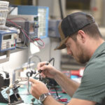 The Veterans to Energy Careers program helps student veterans find jobs in sustainable energy fields. Photo courtesy of CSUSM