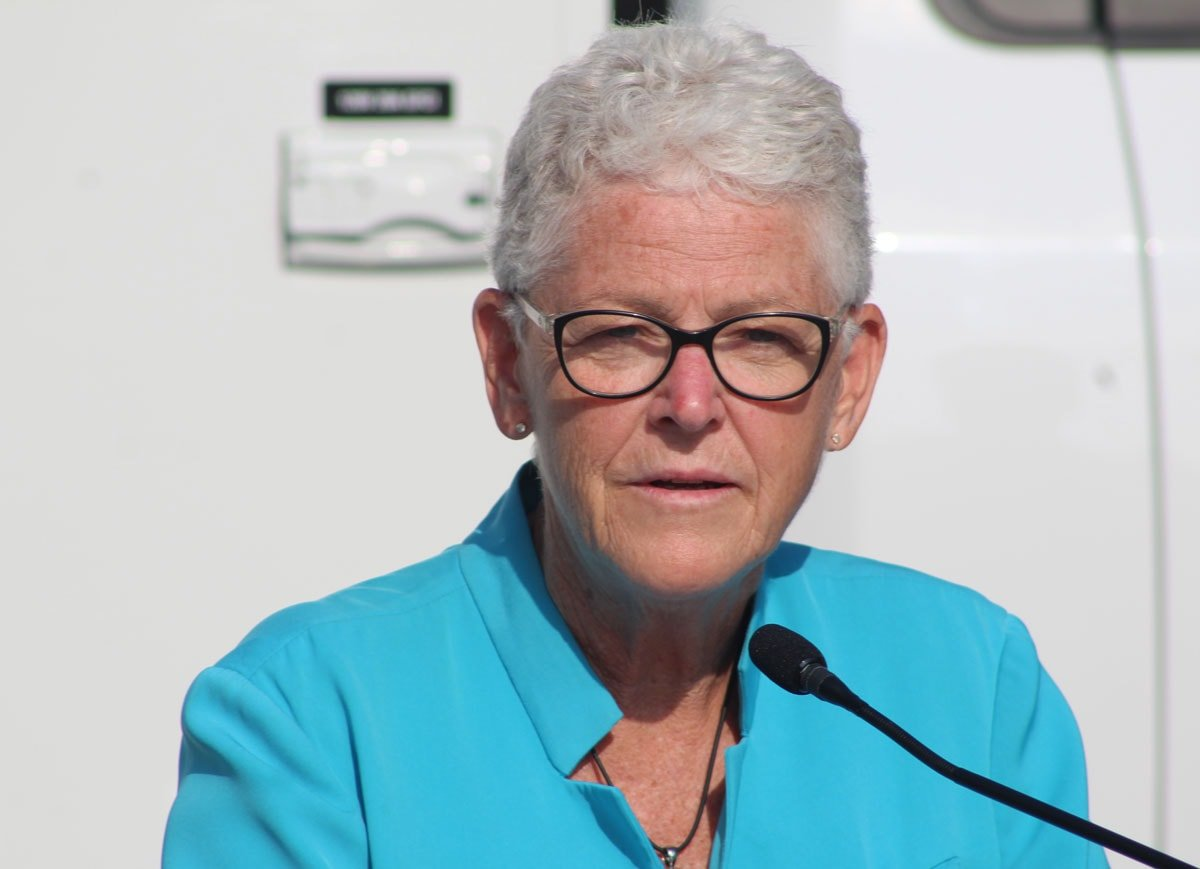White House National Climate Adviser Gina MCCarthy visited SDG&E headquarters on Tuesday in San Diego. Photo by Steve Puterski