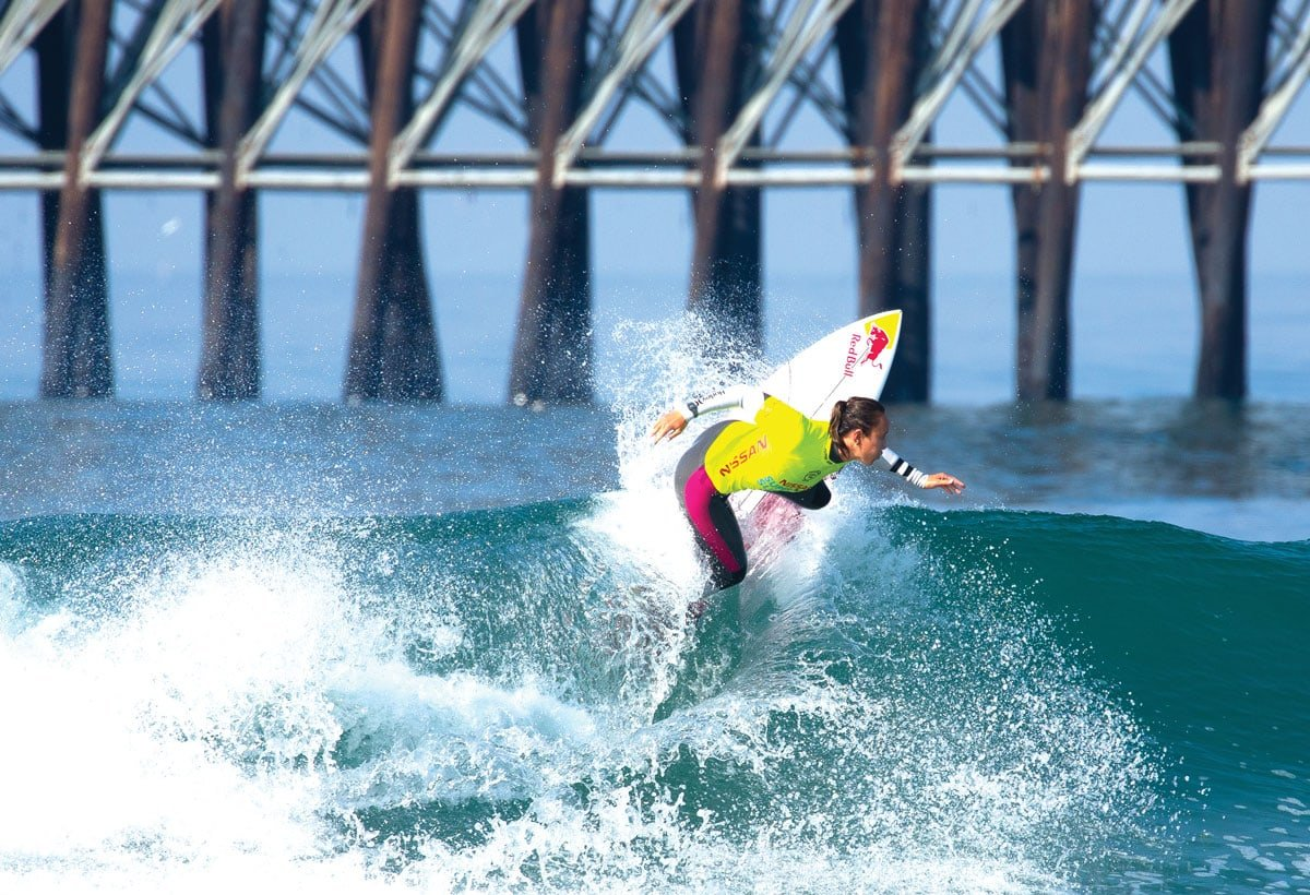 Carissa Moore, a gold medalist at this summer's Tokyo Olympics, will be returning to the 2021 Super Girl Surf Pro event on Sept. 17 in Oceanside. Courtesy photo