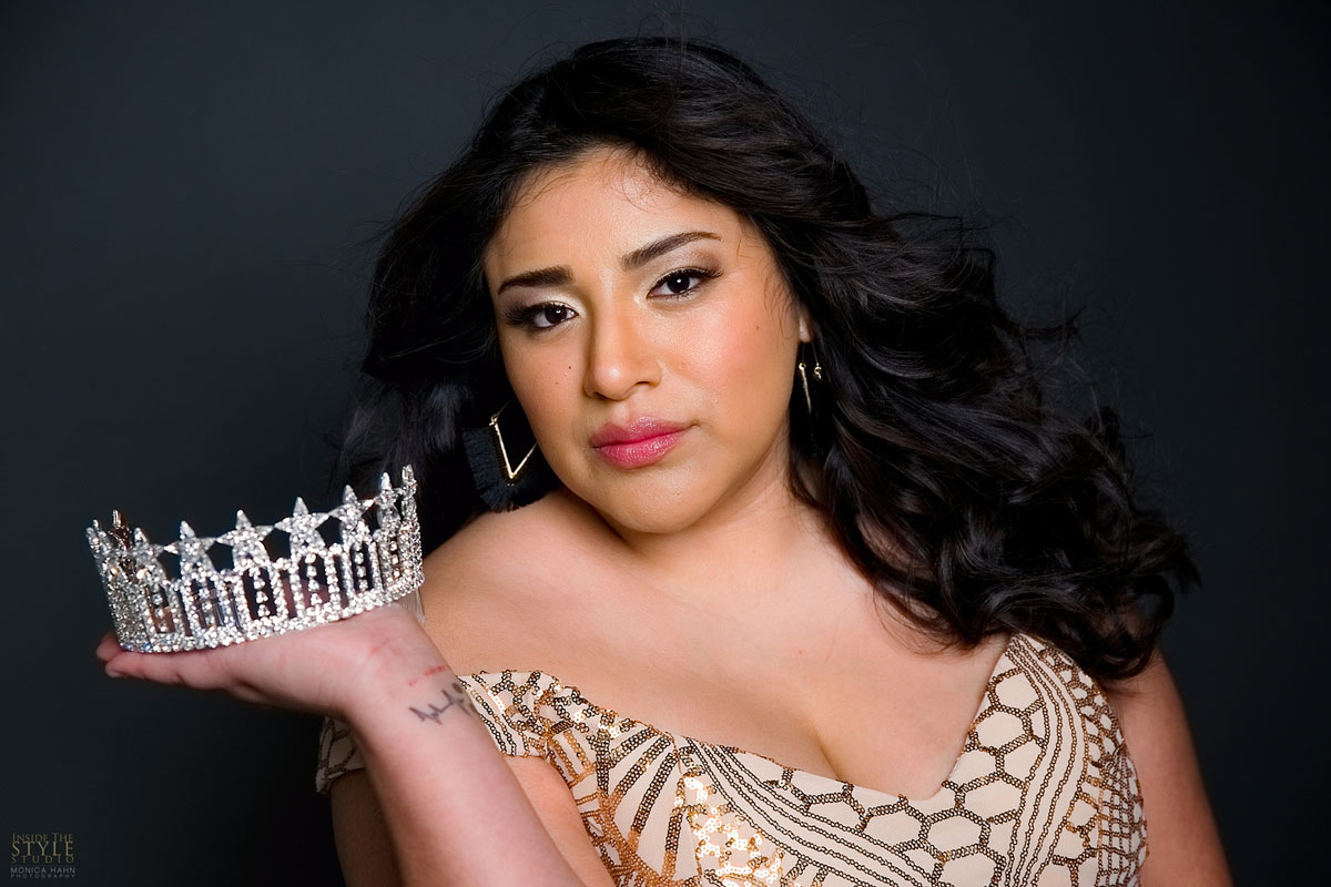 San Marcos resident Isabel Amayrani Rhodes will be representing San Marcos in the Miss California USA competition this September. Courtesy photo