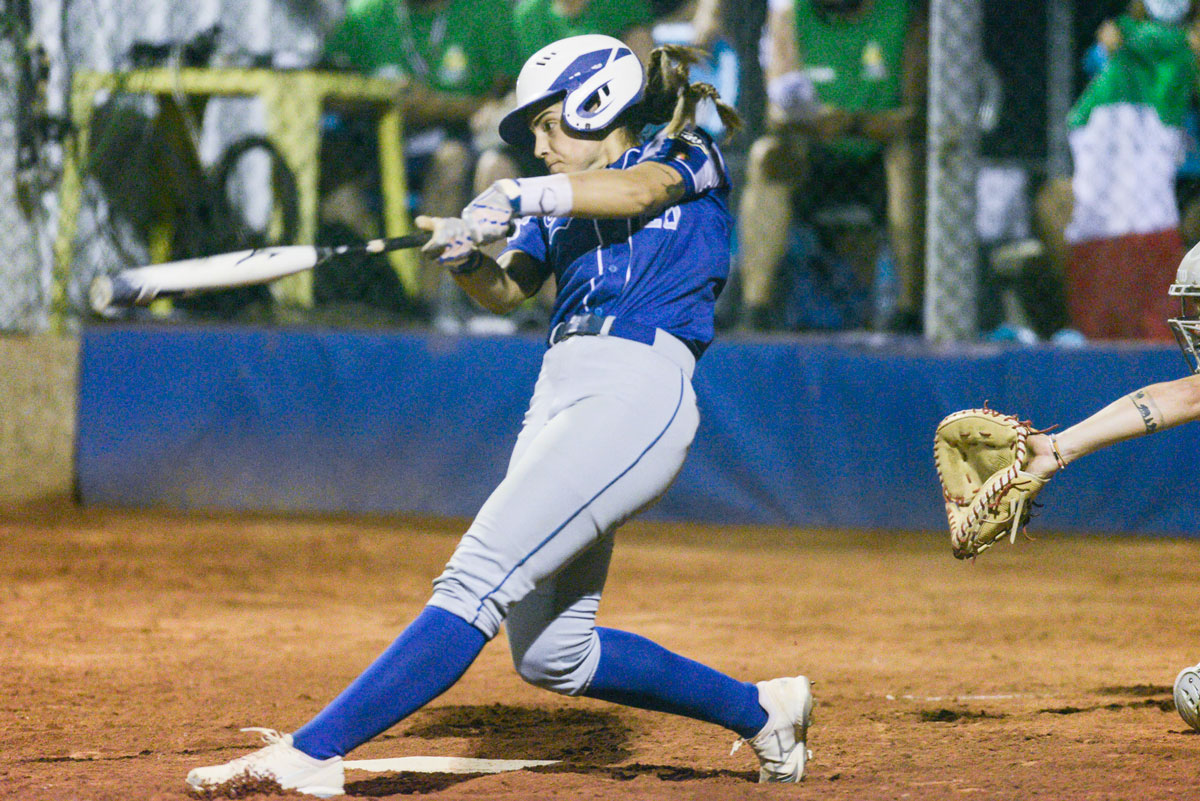 Carlsbad High School alum Erika Piancastelli, 25, played for the Italian Olympic softball team in Tokyo. Piancastelli also plays professionally in Italy and the U.S.