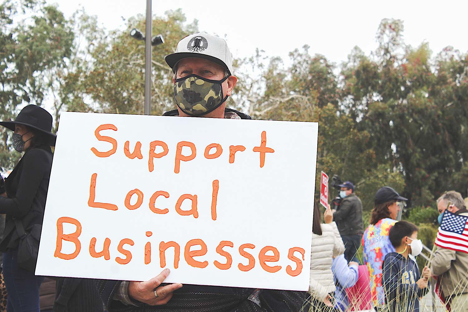Carlsbad City Hall protests