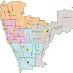 """In 2017, the Encinitas City Council selected """"Citizens Map 16"""" as the new electoral map that took effect in the 2018 election cycle. This year, the council has opted to redraw district lines on its own with public input. Courtesy photo"""