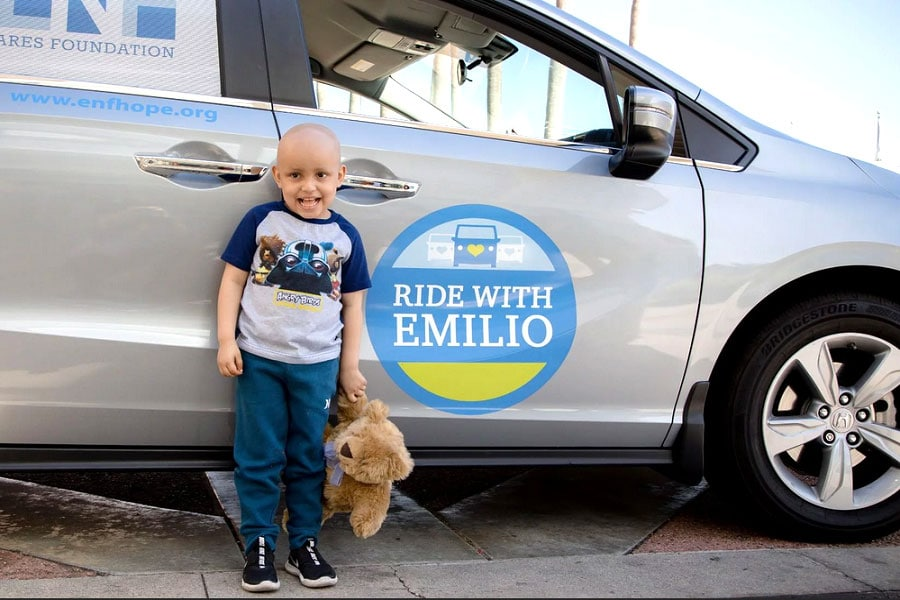 The Emilio Nares Foundation, since 2003, has helped children and their families battling cancer in Southern California. Courtesy photo