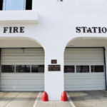 Fire Station 1, built in 1929, is too small and does not meet current building code requirements. Photo by Jordan P. Ingram