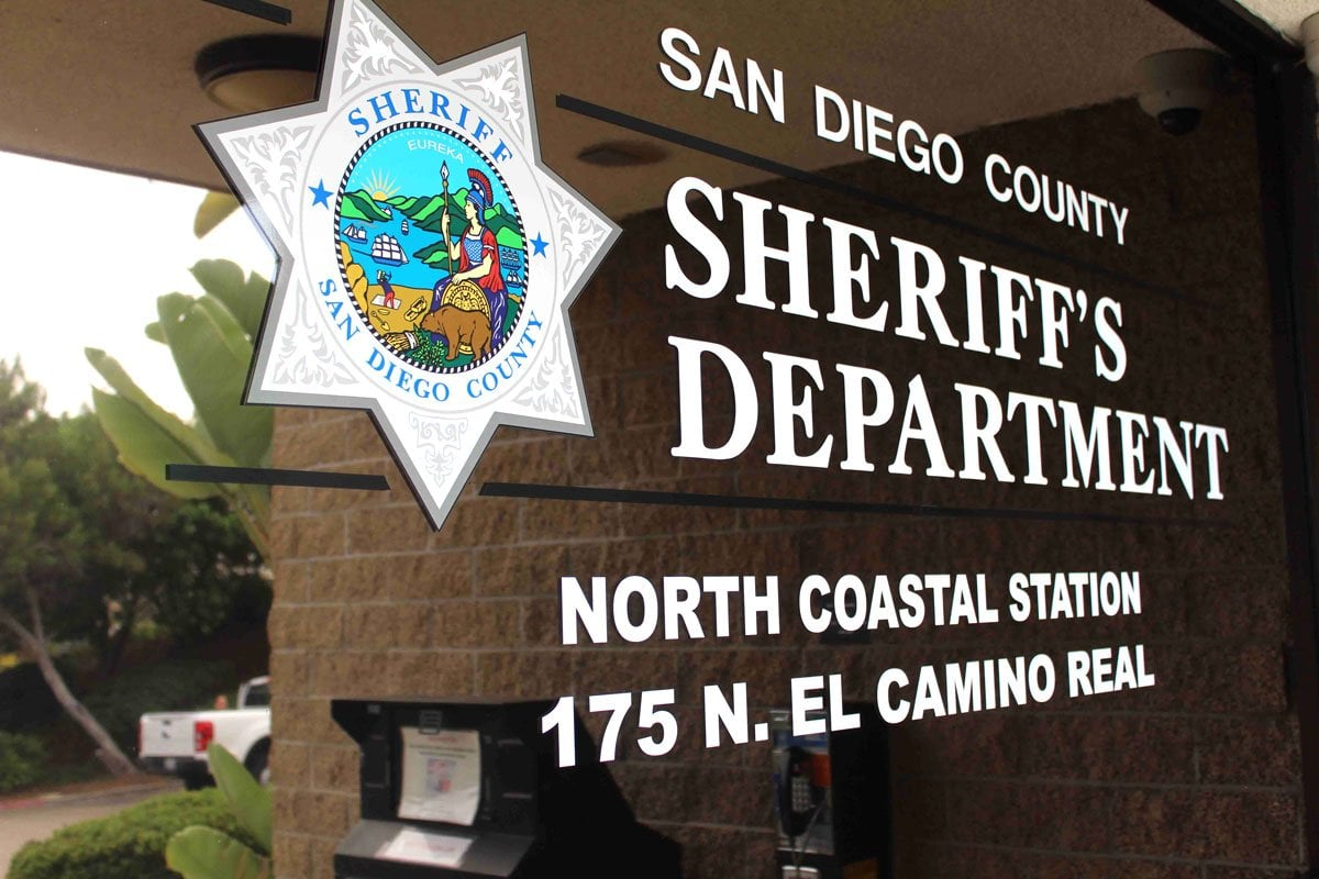 North Coastal Sheriff's Station in Encinitas. Photo by Jordan P. Ingram