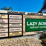 A mix of businesses make up the Moonlight Marketplace in Encinitas. Photo by David Boylan