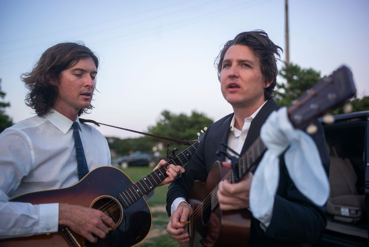 The Milk Carton Kids are Joey Ryan (left) and Kenneth Pattengale. The duo met in their hometown of Los Angeles in 2011 and have been working together ever since. Courtesy photo