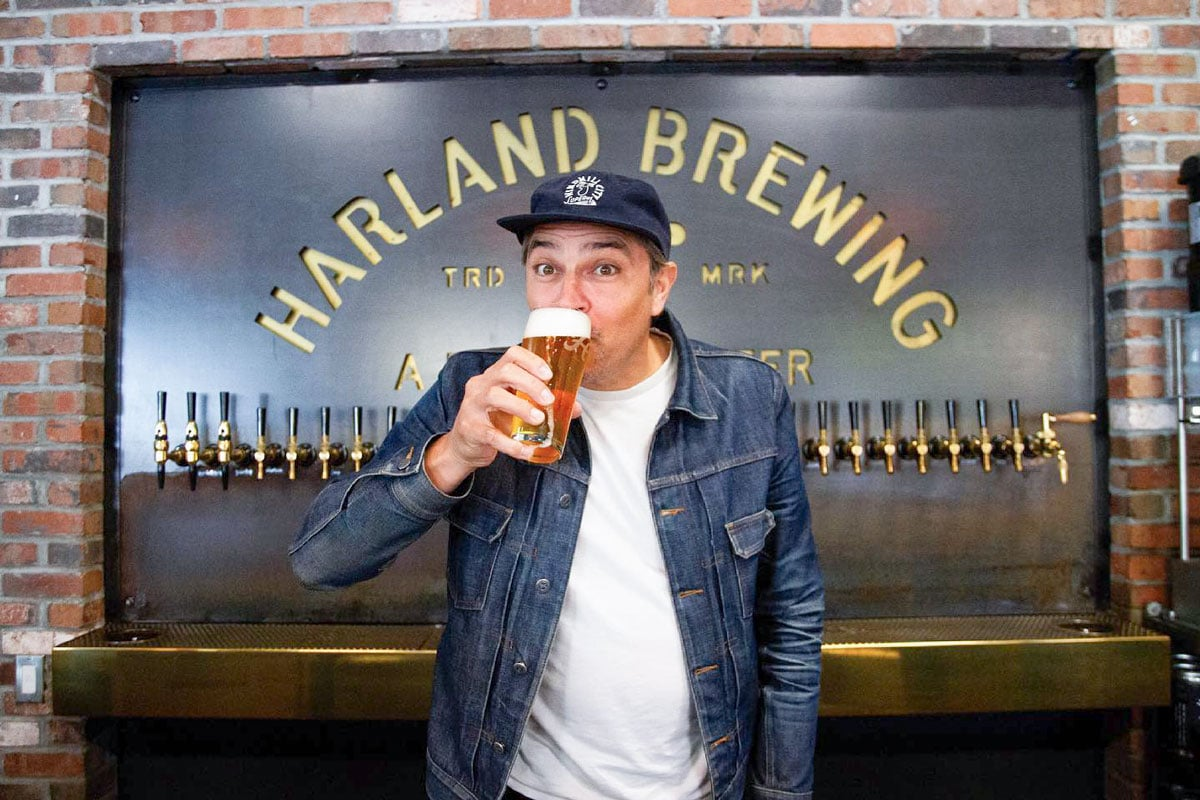 Harland Brewing Company co-founder and president Anthony Levas. Photo via Facebook