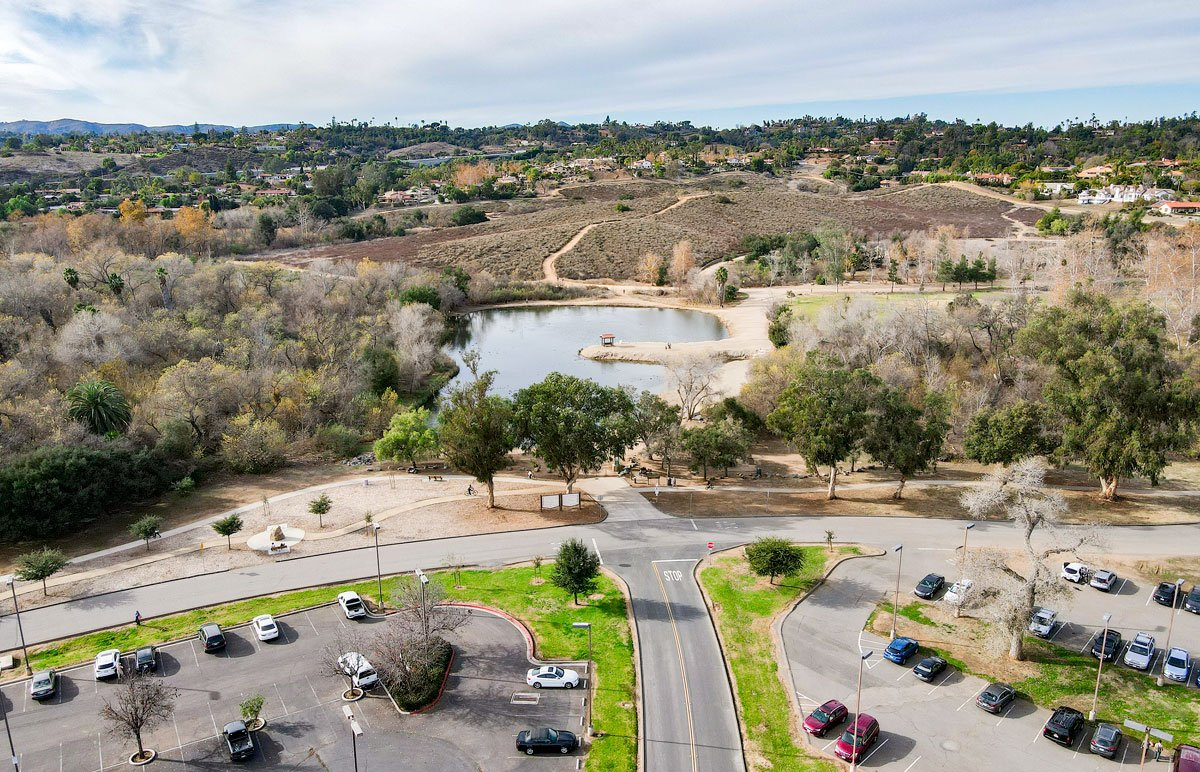 A view of Kit Carson Park in Escondido.